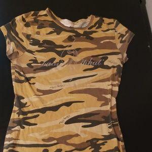 Baby phat camo tshirt
